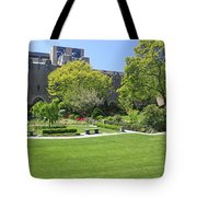 A Lovely View Of A Little Garden At The United States Military A Tote Bag