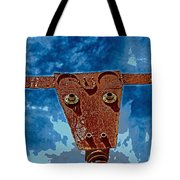 A Lucky Bull Tote Bag