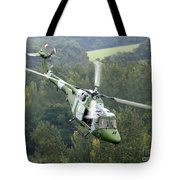 A Lynx Mk 7 Helicopter Tote Bag