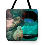 A Man And His Music - James Brown Featured In 'abc Group' And Comfortable Art Group Tote Bag