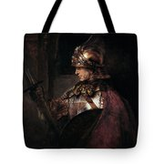 A Man In Armour, 1655 Tote Bag