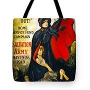 A Man May Be Down . . .   1919 Tote Bag
