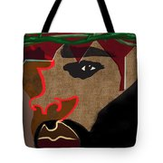 A Man With A Crown Tote Bag