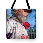 A Man With A Purpose Tote Bag