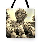 A Maze Ing Man 6 Sepia Tote Bag