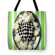 A Meal With Painted Chicken And Eggplant Tote Bag