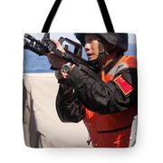 A Member Of The Chinese Peoples Tote Bag by Stocktrek Images