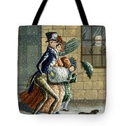 A Merry Christmas And Happy New Year Tote Bag
