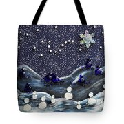 A Midnight Clear Tote Bag