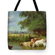A Midsummer's Day On The Thames  Tote Bag