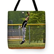 A Mighty Leap Tote Bag
