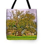 A Mighty Oak - Paint Tote Bag