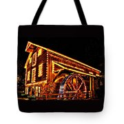 A Mill In Lights Tote Bag by DJ Florek