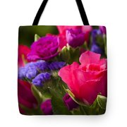 A Mixed Bouquet Tote Bag