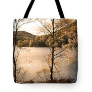A Moment Of Gold Tote Bag