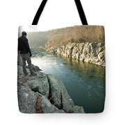 A Morning At Mathers Gorge Tote Bag