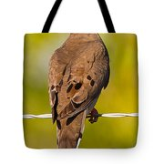 A Morning Dove Tote Bag