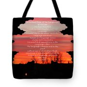 A Mother's View Of Autism Tote Bag