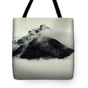 A Mountain Scene Tote Bag