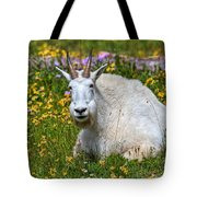 A Mouthful Of Flowers Tote Bag