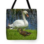 A Mute And Mallards Tote Bag