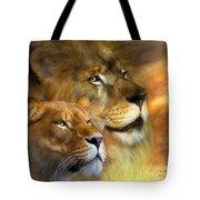 A New Dawn Tote Bag by Carol Cavalaris