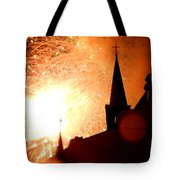 New Orleans St. Louis Cathedral A New Day A New Year In Louiisana Tote Bag