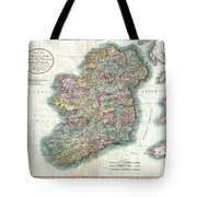 A New Map Of Ireland 1799 Tote Bag