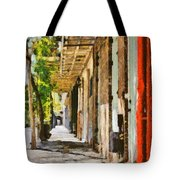 A New Orleans Alley Tote Bag