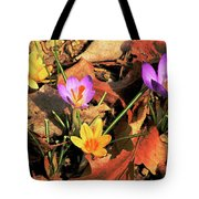 A New Season Blooms Tote Bag