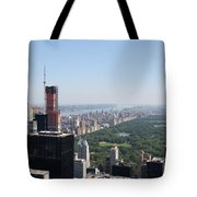 A New Skyscraper In Nyc Skyline Tote Bag