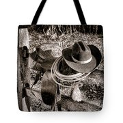 A New Workday For The Cowboy Tote Bag