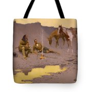 A New Year On The Cimarron  Tote Bag