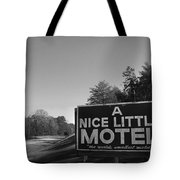 A Nice Little Motel Sign Tote Bag