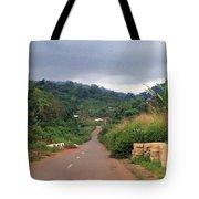 A Nice Nigerian Road Tote Bag