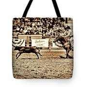 A Night At The Rodeo V11 Tote Bag