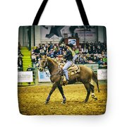 A Night At The Rodeo V17 Tote Bag
