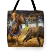 A Night At The Rodeo V18 Tote Bag