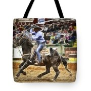 A Night At The Rodeo V19 Tote Bag