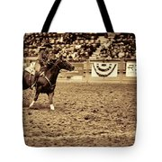 A Night At The Rodeo V22 Tote Bag