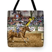 A Night At The Rodeo V27 Tote Bag