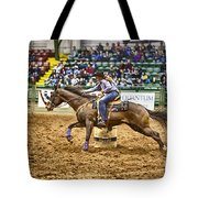A Night At The Rodeo V28 Tote Bag