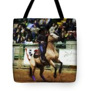 A Night At The Rodeo V29 Tote Bag