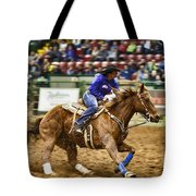 A Night At The Rodeo V30 Tote Bag