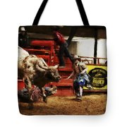 A Night At The Rodeo V38 Tote Bag