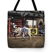 A Night At The Rodeo V39 Tote Bag