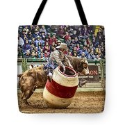 A Night At The Rodeo V9 Tote Bag