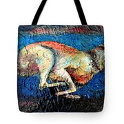 A Night Runner Tote Bag