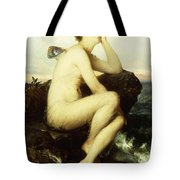 A Nymph By The Sea Tote Bag by Wilhelm Kray
