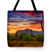 A Painted Desert  Tote Bag